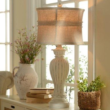 Kirklands Decor That I Love. Cream Table Lamp