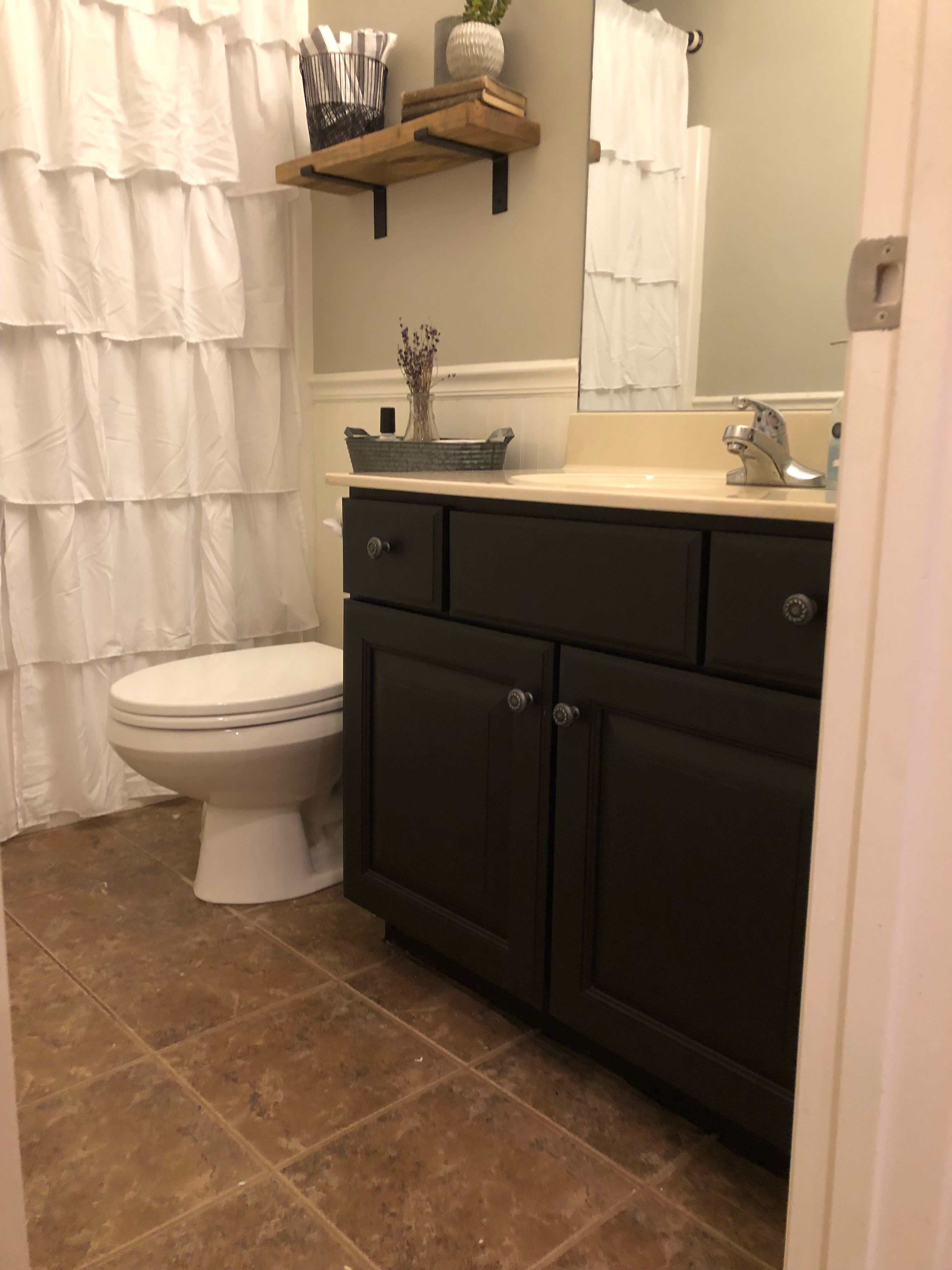 paint your bathroom cabinets for an easy and cheap diy project and bathroom remodel