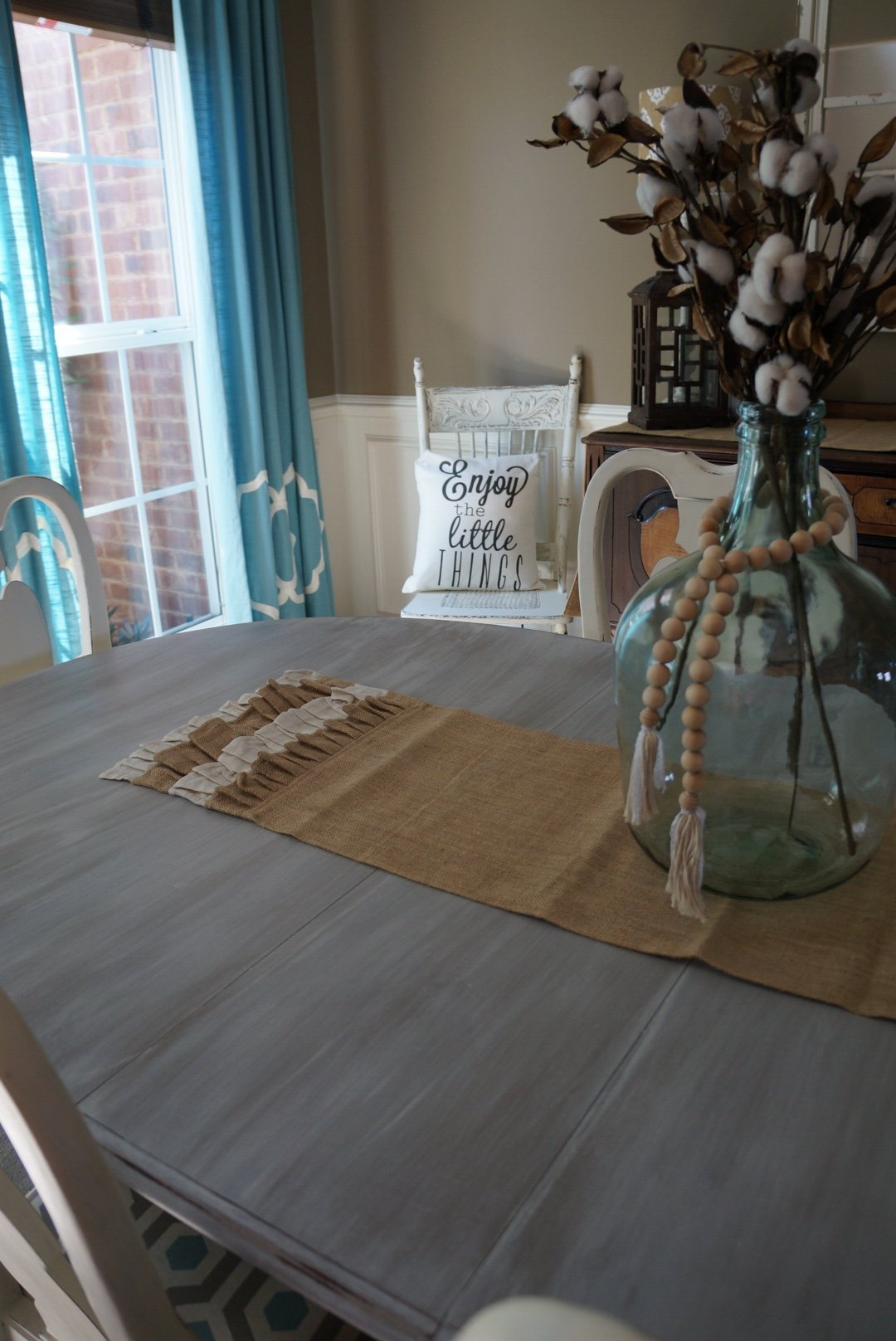 How to do a gray and white wash to get the Restoration Hardware look for less!