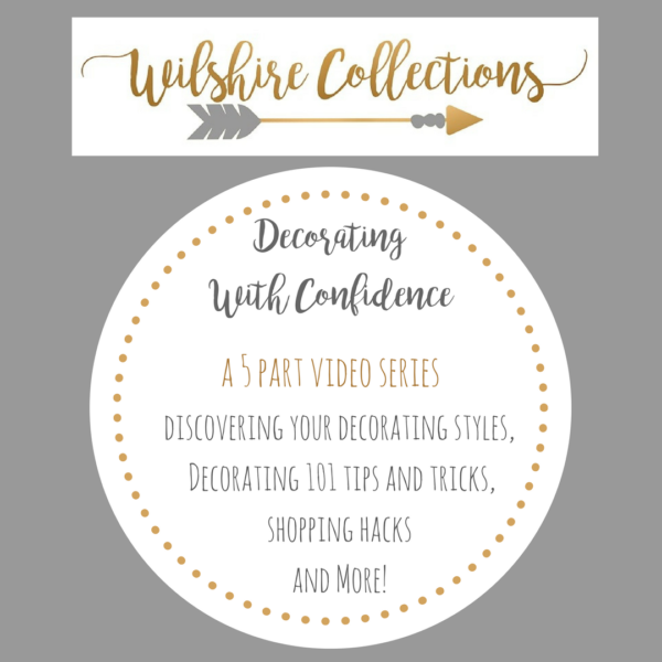 decorating with confidence 5 part video series