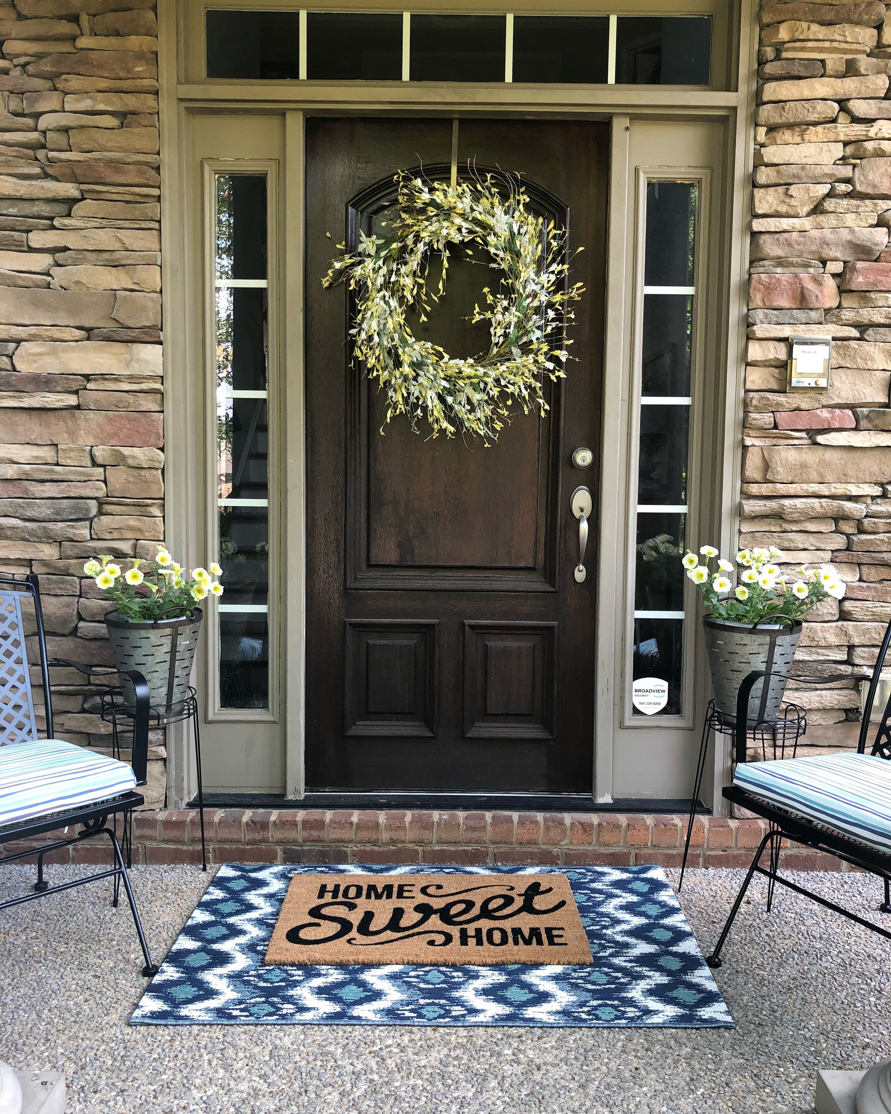 Summer 4 Easy Steps To A Quick Front Porch Makeover