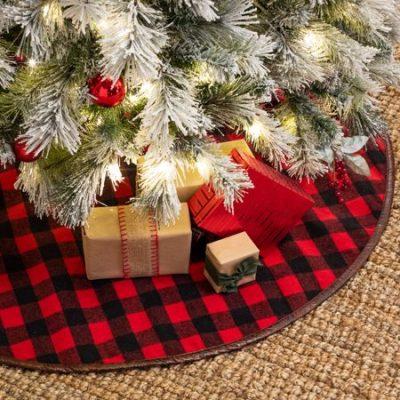 Walmart Christmas Finds Buffalo Check Tree Skirt