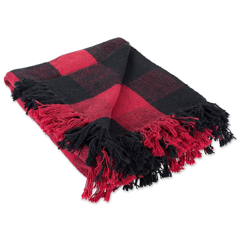 Buffalo Check Christmas gift guide throw blanket