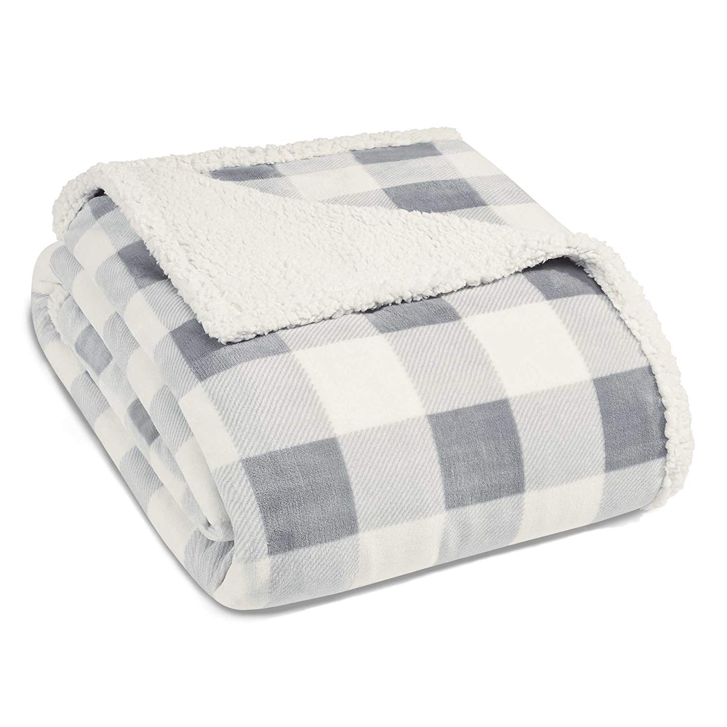 Favorite things gift ideas gray buffalo check throw