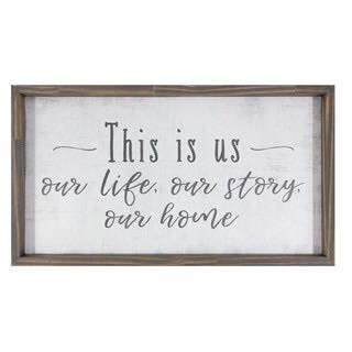 Farmhouse wall decor- this is us sign