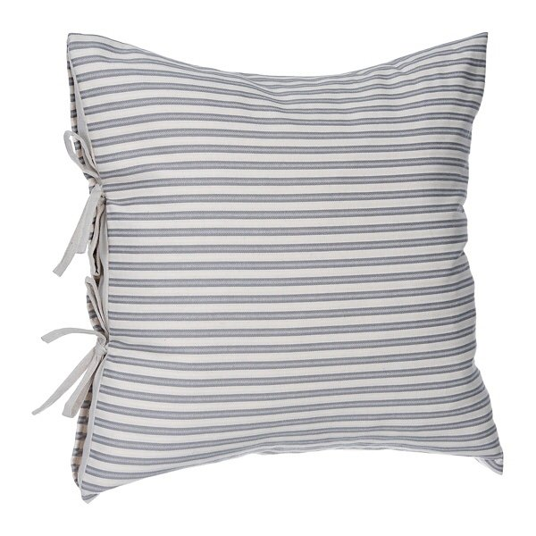 Cute everyday throw pillows for your home- adorable ticking stripe!