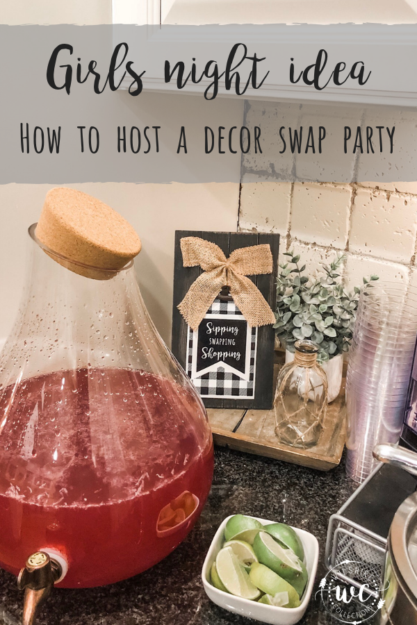Girls night idea- how to host a decor swap party for your friends!