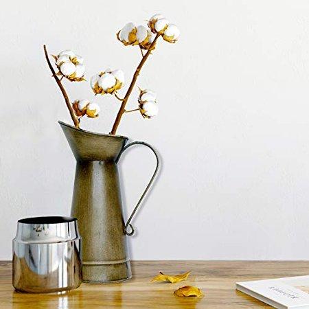 The best farmhouse vases for your florals- vintage milk jug