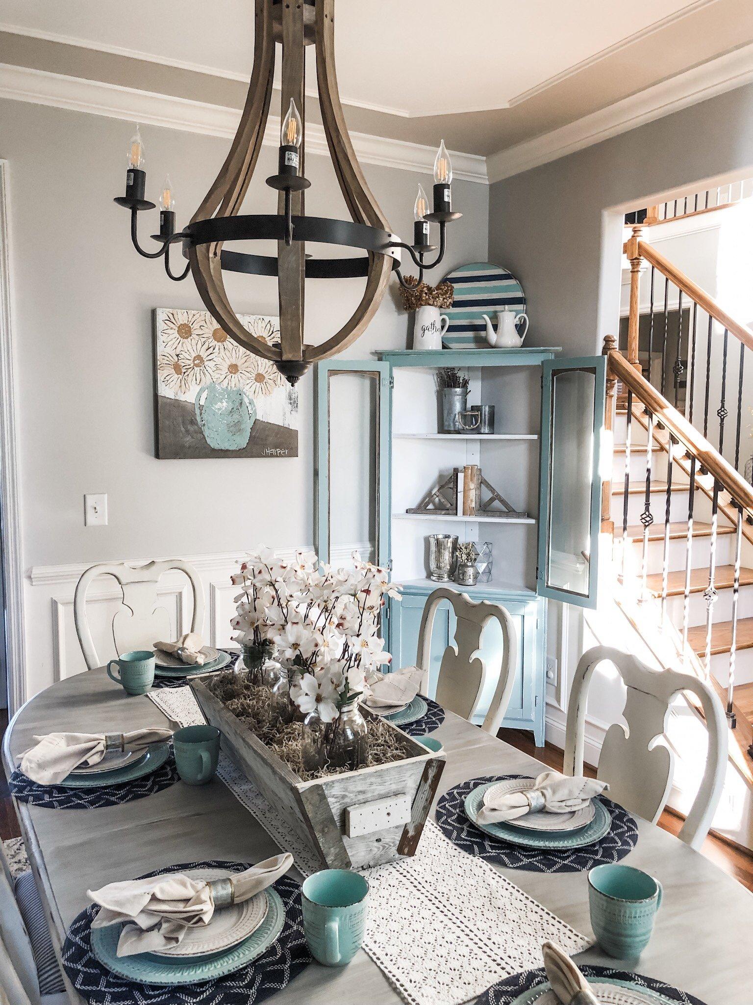 Modern Farmhouse Dining Room Decor Inspiration