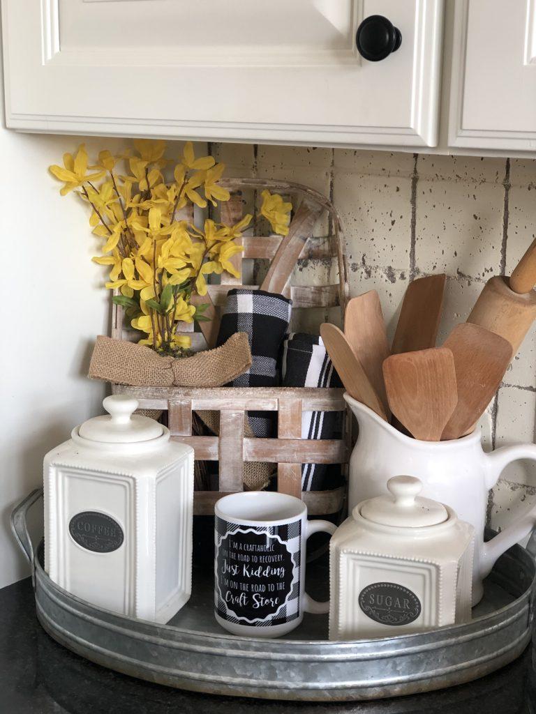 10 fabulous farmhouse trays you will love, kitchen tray