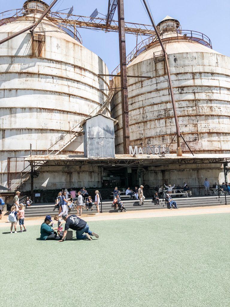 My Magnolia Market experience, the silos