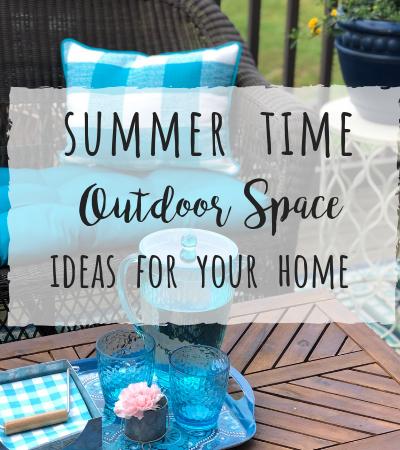 Summer outdoor space ideas