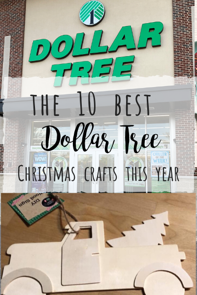 10 Best Dollar Tree Christmas Craft items to buy this year!