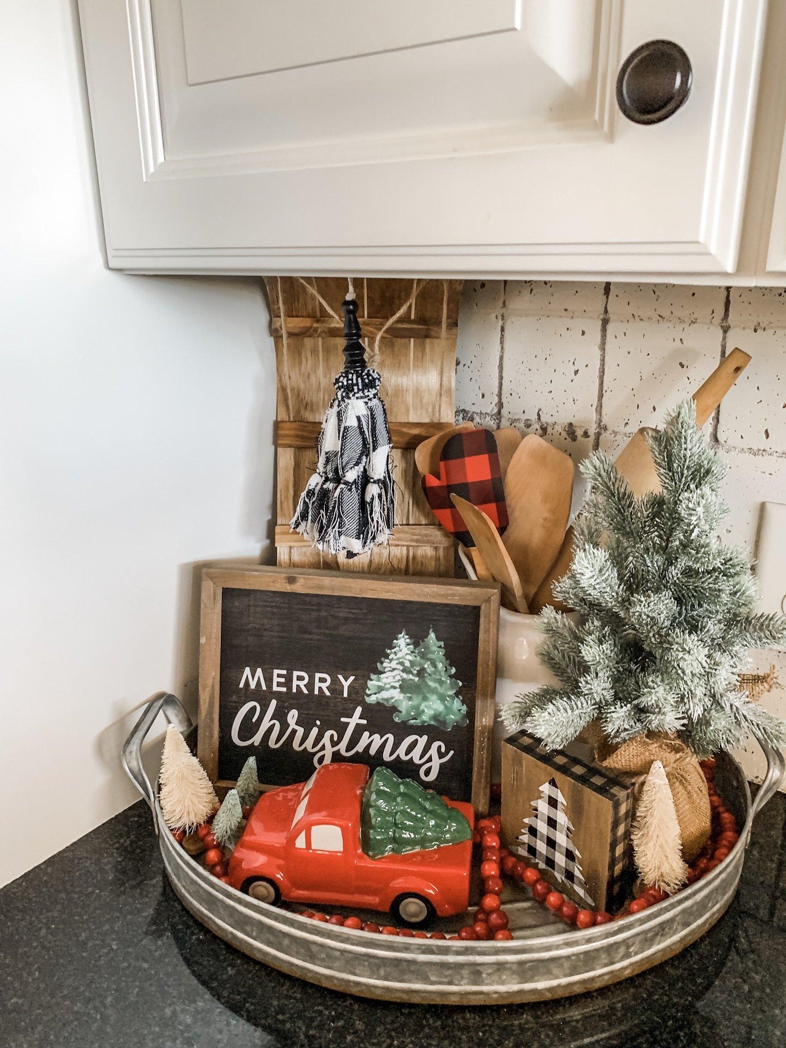Christmas tray ideas for inspiration this holiday season!