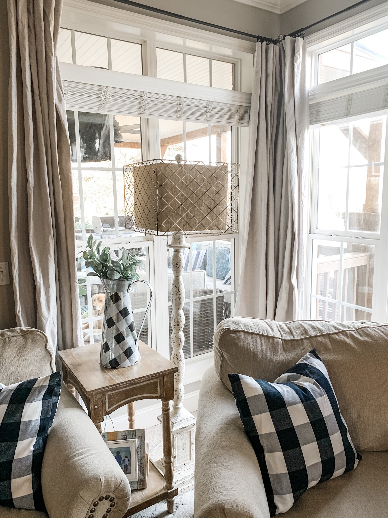 Diy Drop Cloth Curtains For Instant Farmhouse Charm