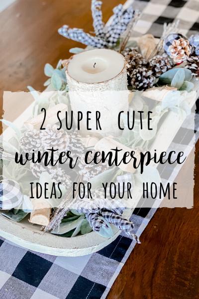Winter centerpiece ideas