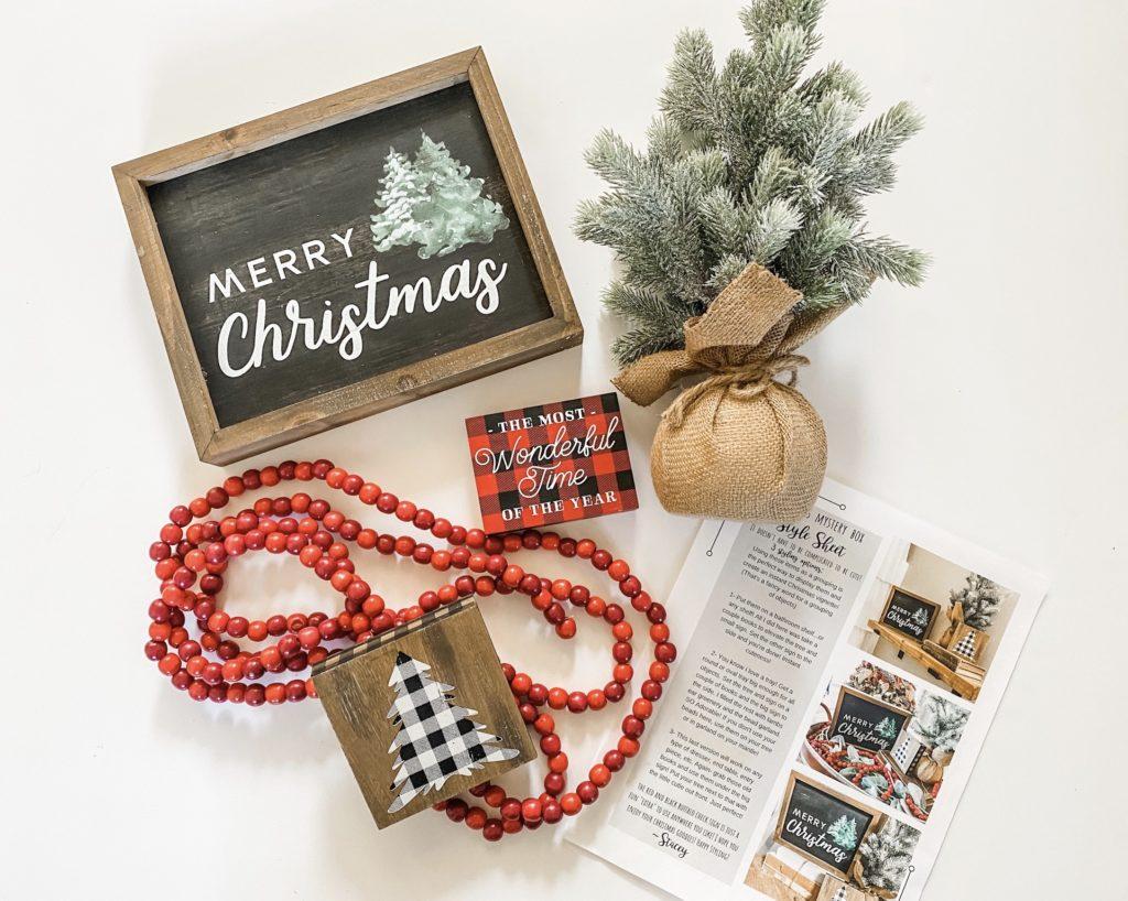 Christmas mystery box items