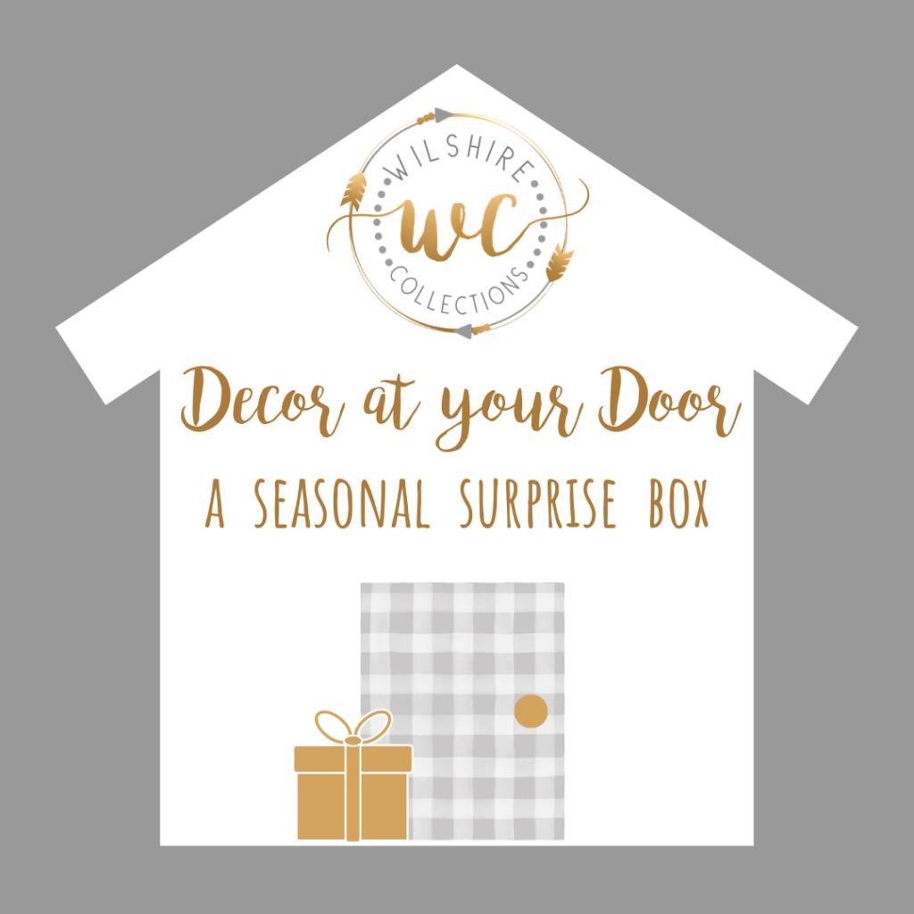 Decor at your door a seasonal surprise box
