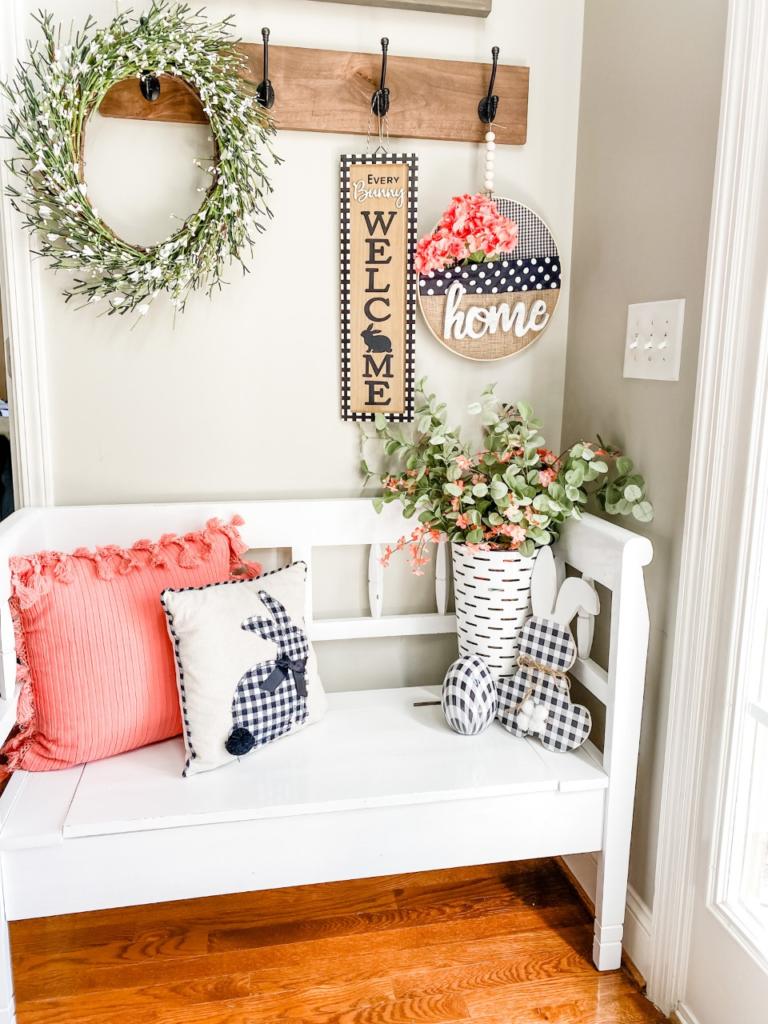 Spring entry way decor ideas