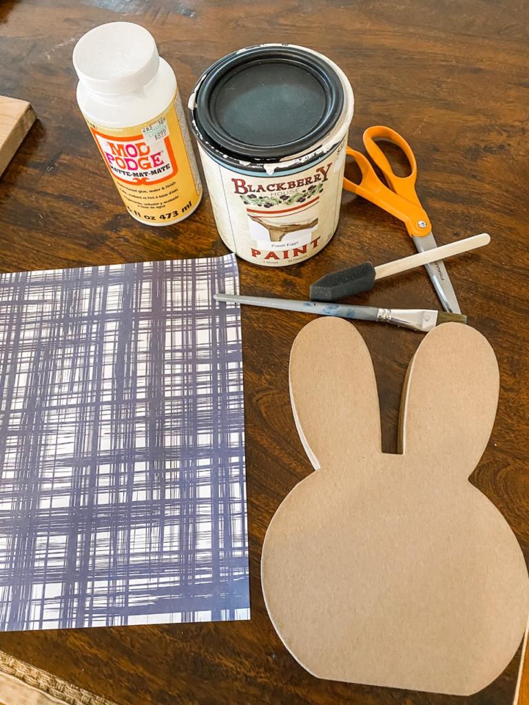 5 minute bunny craft