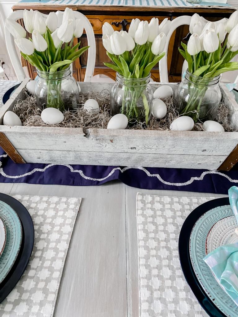 Spring table setting idea