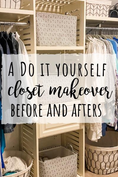 DIY Closet Makeover