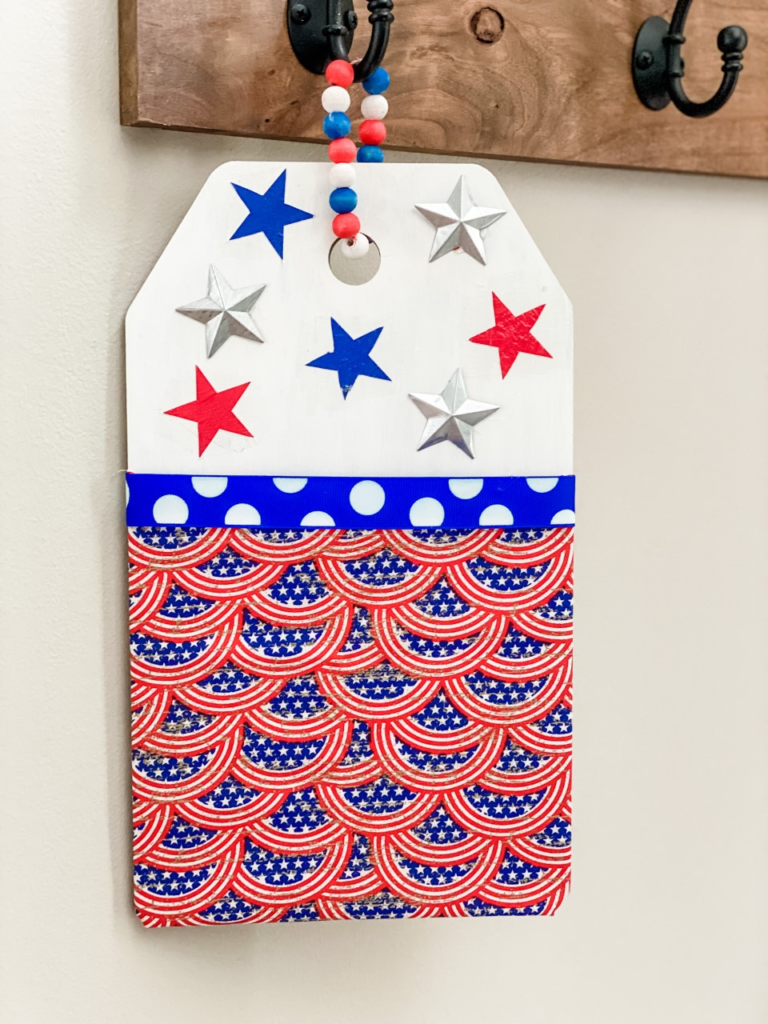 Dollar tree patriotic sign DIY