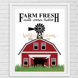 Printable- farmhouse barn pic
