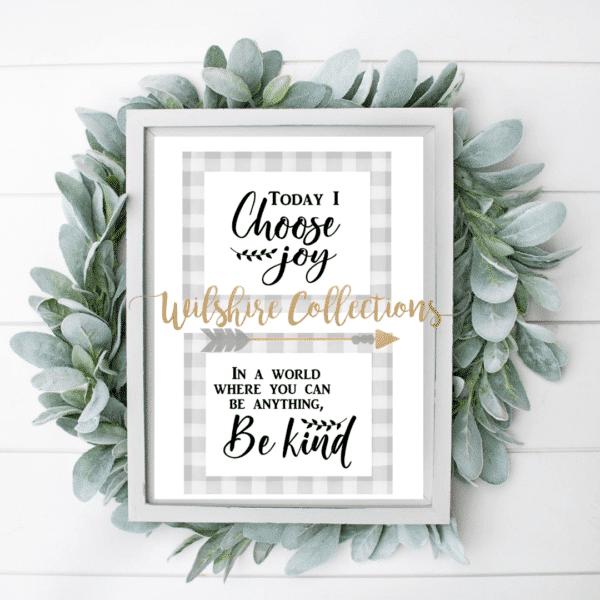 Everyday- joy and kindness