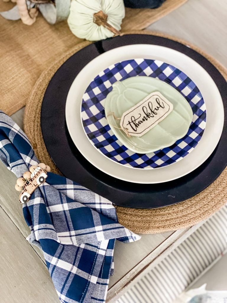 Navy Fall Decor for your home!