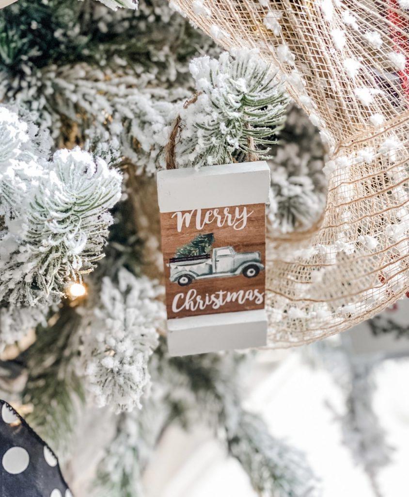 Christmas ornament DIY