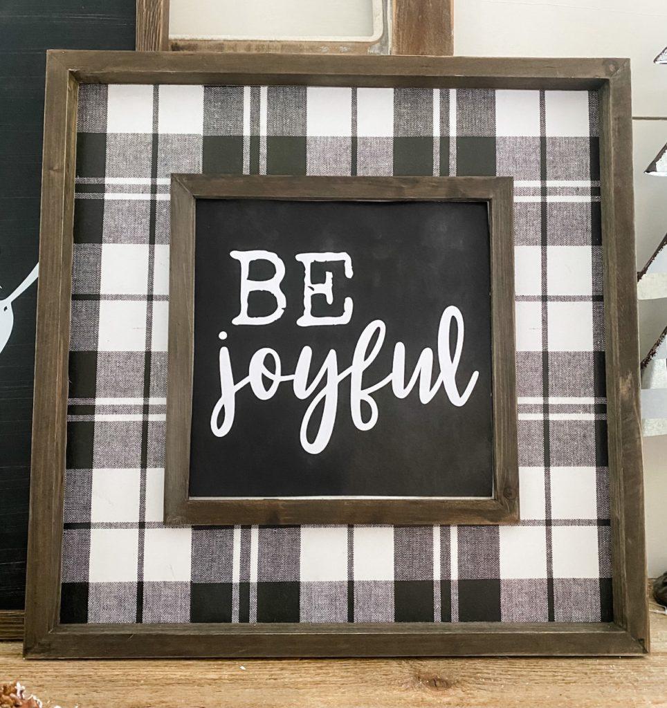 Free printable- be joyful