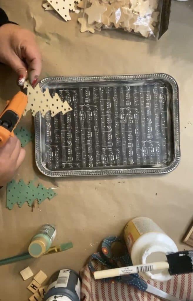 Dollar Tree Tray DIY
