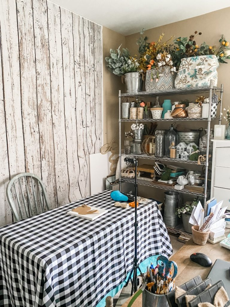Craft room and office makeover