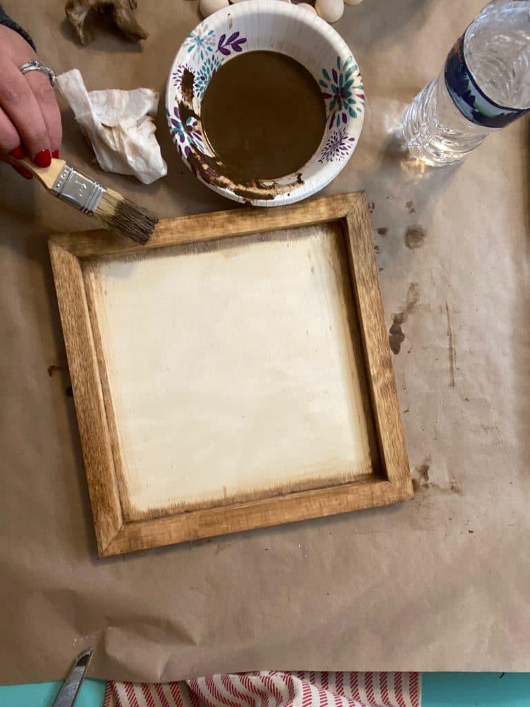 DIY farmhouse tray
