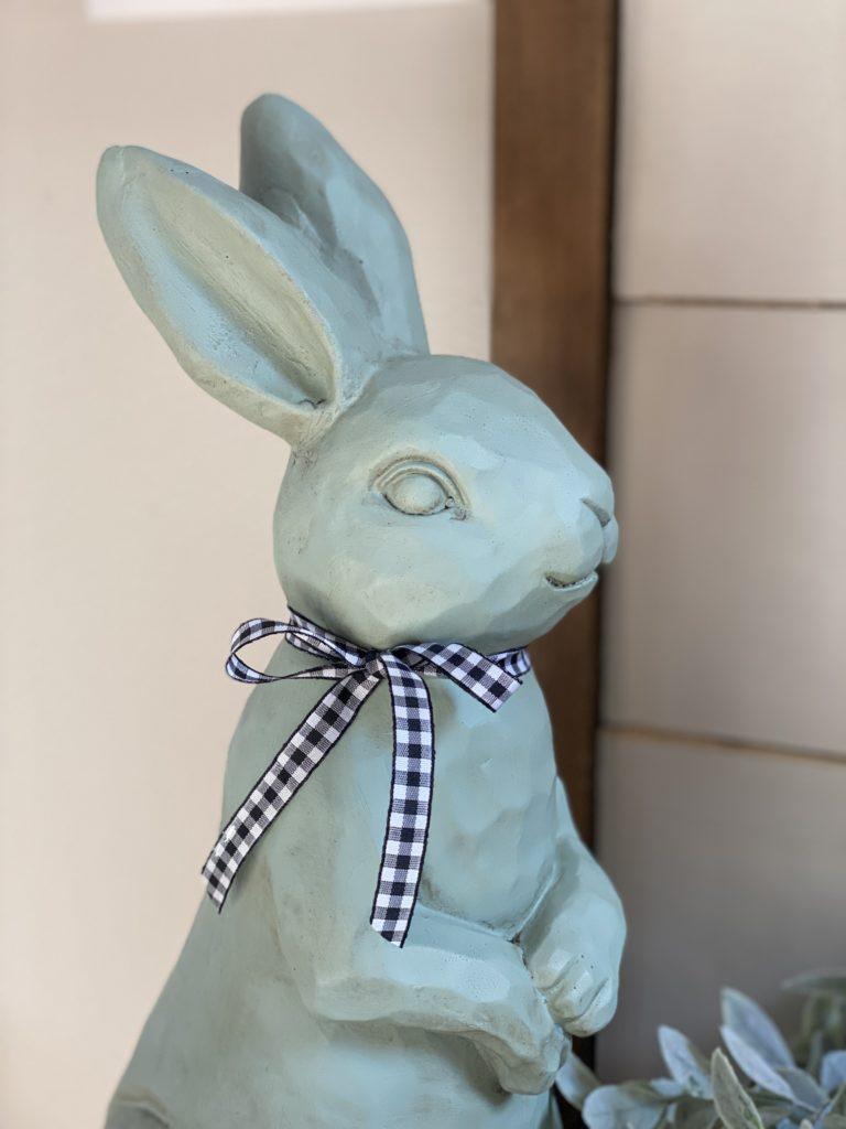 Sage green bunny