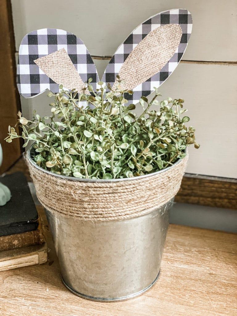 bunny ear vase