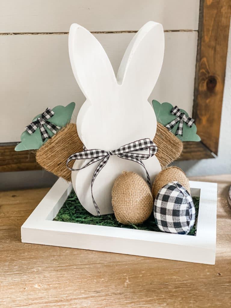 Spring bunny craft