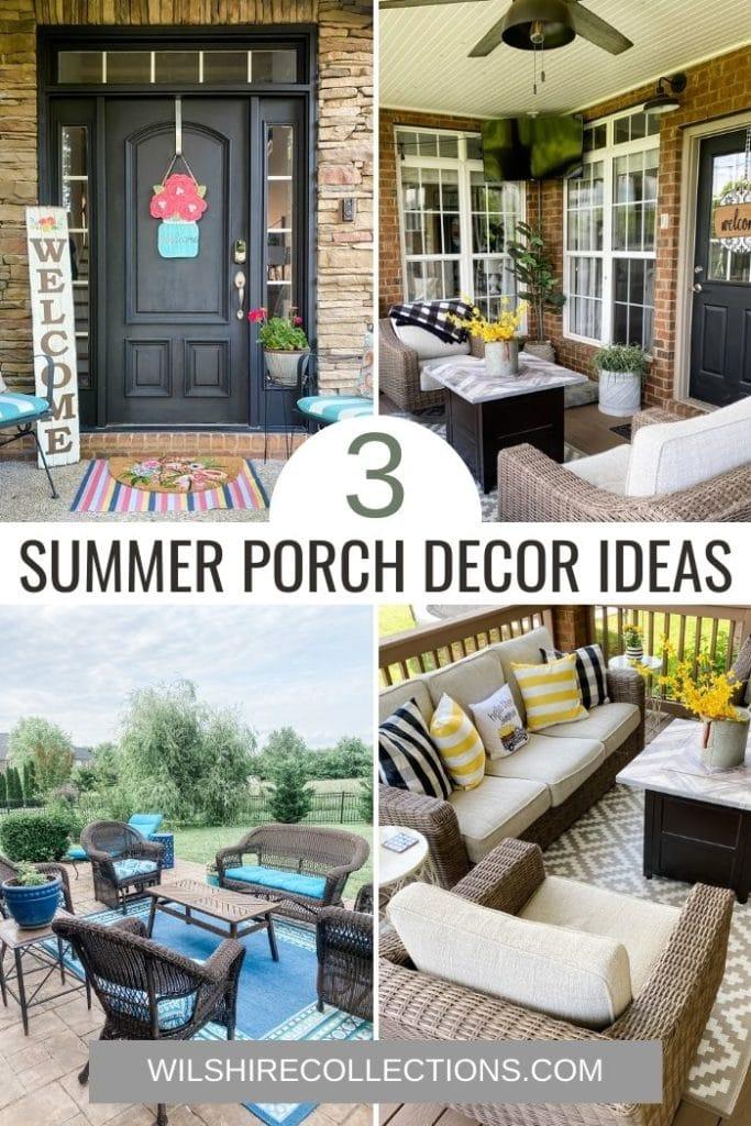front door decor, porch decor, and patio decor