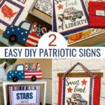 patriotic sign supplies and finished diy patriotic signs