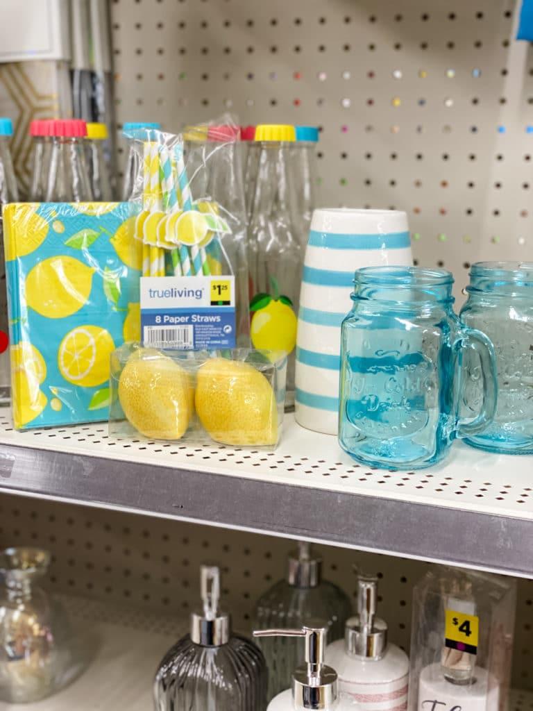 lemon items from Dollar General