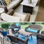 porch sitting area, patio sitting area