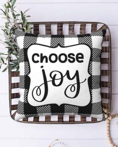 Choose Joy Pillow Case