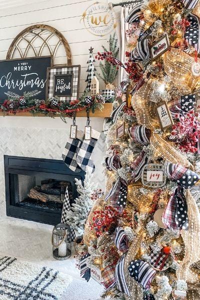 Christmas Tree Decor for Living Room