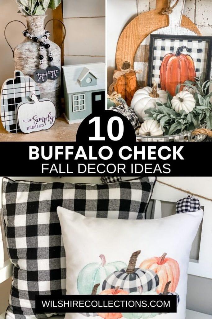 10 Buffalo Check Fall Decor Ideas