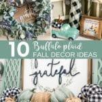 10 Buffalo Plaid Fall Decor Ideas