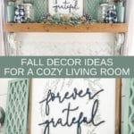 Fall Decor Ideas for a Cozy Living Room