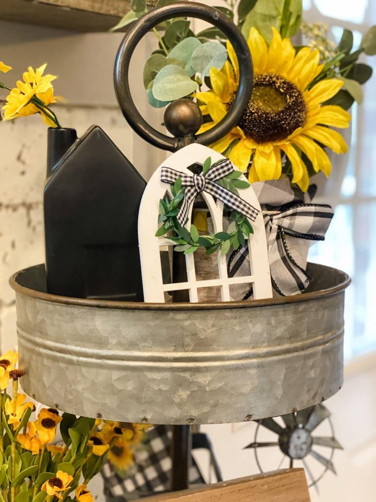 sunflower tray