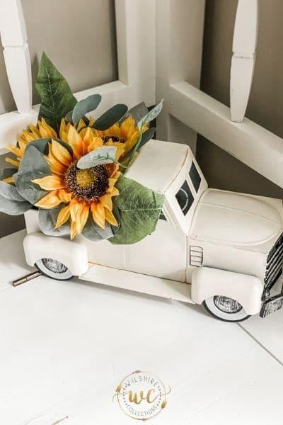 Sunflower decor and craft ideas!
