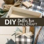 DIY Dollar Tree Fall Craft